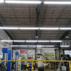 LED integrierte Feuchtraumleuchte